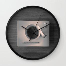 Modern Breakfast Wall Clock