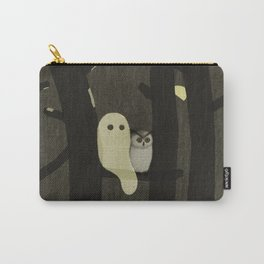 Little Ghost & Owl Carry-All Pouch