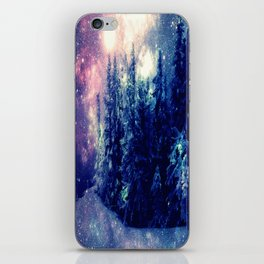 Galaxy Forest : Deep Pastels iPhone Skin