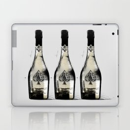 spade champagne Gold, illustration by miart Laptop & iPad Skin