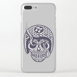 Skull 77 Clear iPhone Case