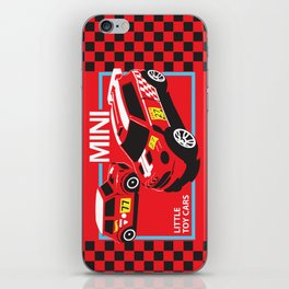 Little Toy Cars iPhone Skin