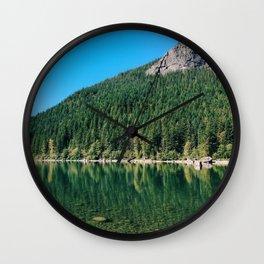 Reflection Lake Wall Clock