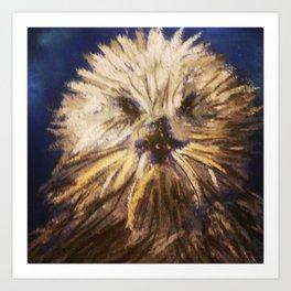 Jonah's Friend The Sea Otter  Art Print