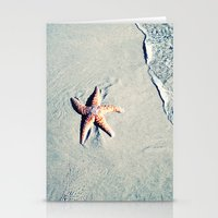 starfish Stationery Cards featuring Starfish  by Bree Madden