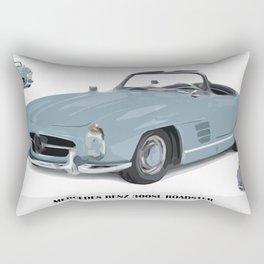 Classic 300SL vintage car Rectangular Pillow