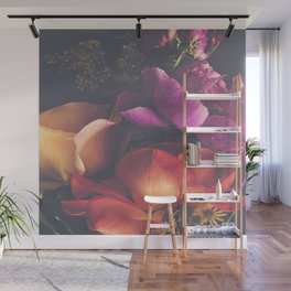 Color Burst Florals Wall Mural