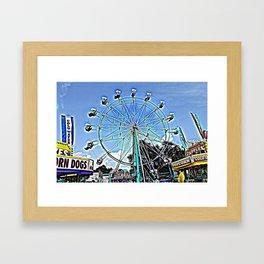 Summer Days Framed Art Print