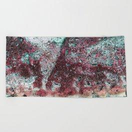 Beach Vibe in Pink Beach Towel