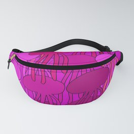 Jellyfish Pink Fanny Pack