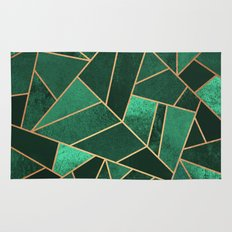 Emerald and Copper Rug