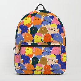 Colored Baby Chickens pattern Backpack