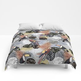 Tropical Birds Comforters