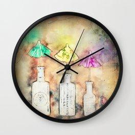 Creative Rain Wall Clock