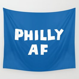Philly AF (Blue) Wall Tapestry