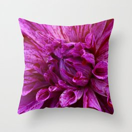 Petal Power Throw Pillow