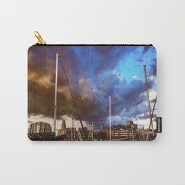 Storm Over the Erie Basin Marina Carry-All Pouch