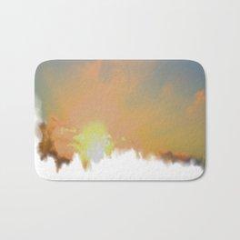 Sunset Lake Murray, La Mesa, California (Copyright) Bath Mat