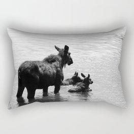 A Protective Mom Rectangular Pillow