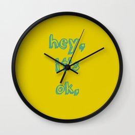 It's ok! Wall Clock