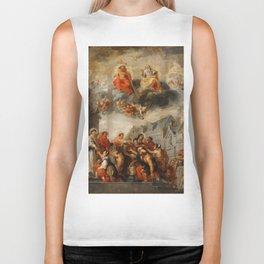 Classic painting of the saints Biker Tank