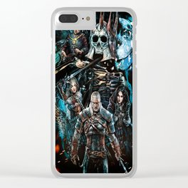 The Witcher Wild Hunt Clear iPhone Case