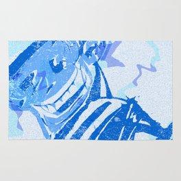 Blue victory Rug