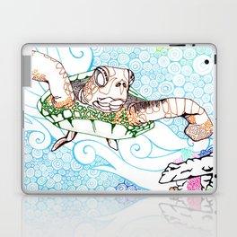 Scuba in Belize Color Laptop & iPad Skin