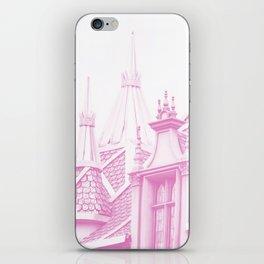 AURORA'S CASTLE - MAKE IT PINK iPhone Skin