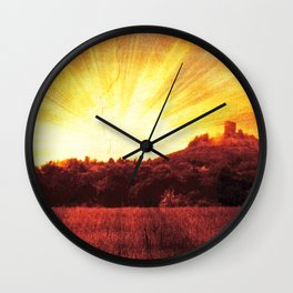 Golden ages Wall Clock