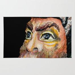 Viking glance Rug