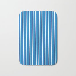 Between the Trees - Blue, Cerulean & Navy #401 Bath Mat