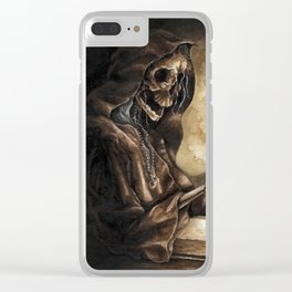 Skeleton Scribe Clear iPhone Case