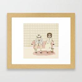 45 years married! Framed Art Print