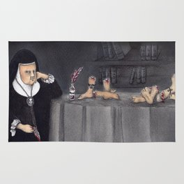 Juana de Asbaje Rug