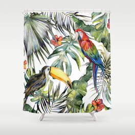 TROPICAL JUNGLE Shower Curtain