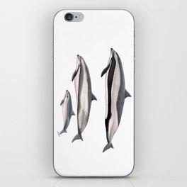 Fraser´s dolphin iPhone Skin