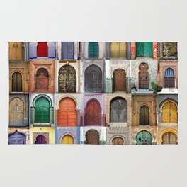 Moorish Doors Montage Rug