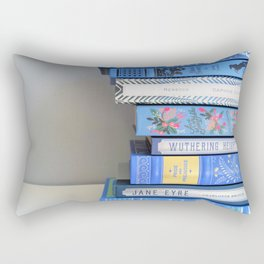 Shelfie in Blue 1 Rectangular Pillow