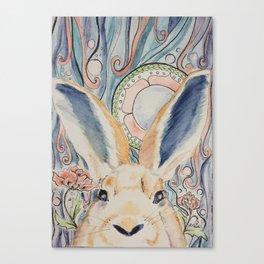 Bunny Moon Canvas Print