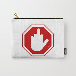 DAMAGED STOP SIGN Carry-All Pouch