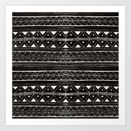 Zebedee Pattern Art Print