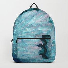 Teal Crystal Backpack