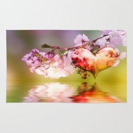 Frühlingsherz Rug