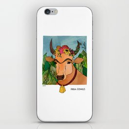 Frida Cowlo iPhone Skin