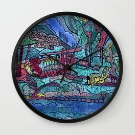 FOREST OF THE DEAD Wall Clock