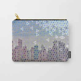Triangled Skyline Carry-All Pouch