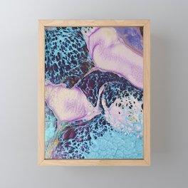 Psychedelic lady II Framed Mini Art Print