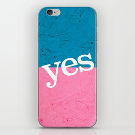 Yes iPhone Skin
