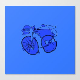 10-Speed -- Take 2 Canvas Print
